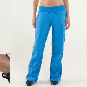 Lululemon Dance Studio pants II ( Lined) in blue